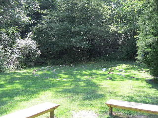 Labyrinth Bench